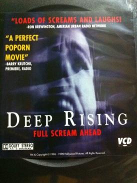 Deep Rising - Video CD cover
