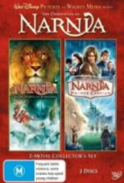 The Chronicles of Narnia: Prince Caspian - HD DVD cover