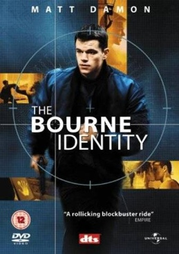 The Bourne Identity - DVD-R cover