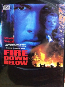 Fire Down Below - Video CD cover