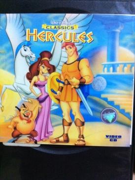 Hercules - Video CD cover