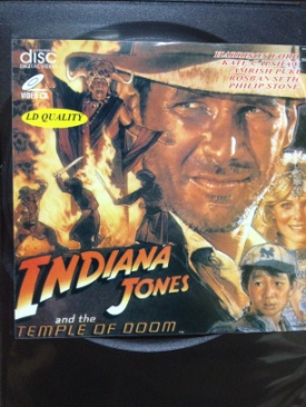 Indiana Jones and the Temple of Doom - Video CD cover