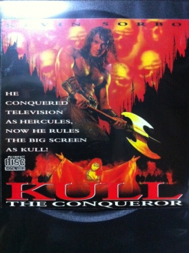 Kull The Conqueror - Video CD cover