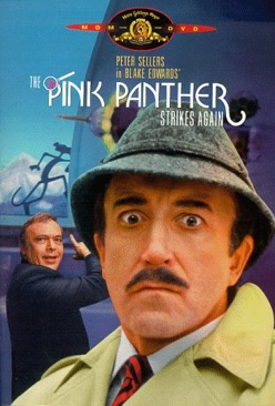 The Pink Panther Strikes Again - VHS cover