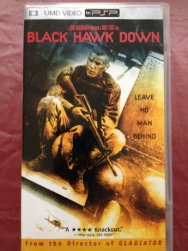 Black Hawk Down - UMD cover