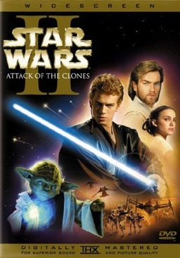 Star Wars II: Attack of the Clones - DVD cover