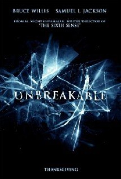 Unbreakable - HD DVD cover