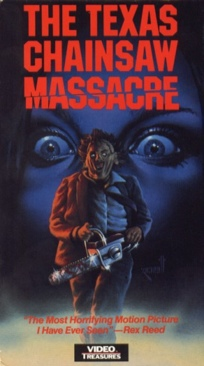 The Texas Chainsaw Massacre - VHS cover