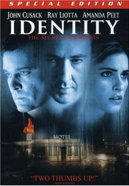 Identity - DVD-R cover