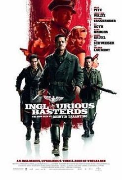 Inglourious Basterds - Video CD cover