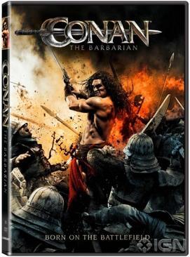 Conan The Barbarian  - HD DVD cover