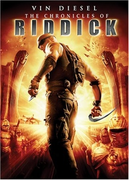 The Chronicles of Riddick - Video CD cover