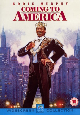 Coming to America - Video CD cover