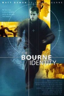 The Bourne Identity - VHS cover