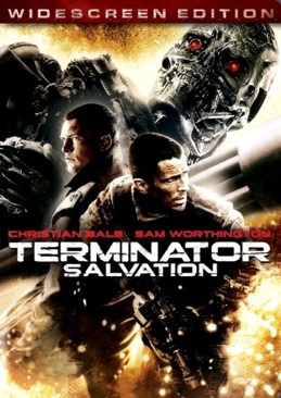 Terminator Salvation - DVD-R cover