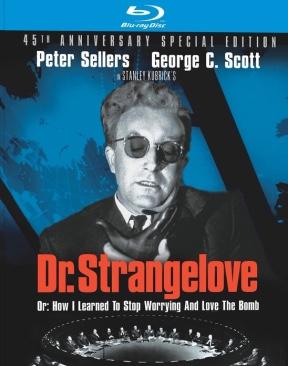 Dr. Strangelove - Blu-ray cover