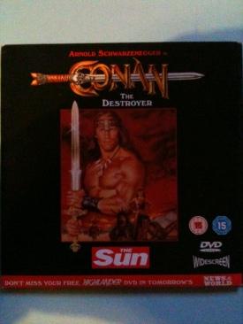 Conan the Destroyer - DVD cover