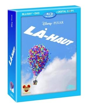 Là-haut - Blu-ray cover