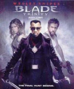 Blade: Trinity - DVD cover
