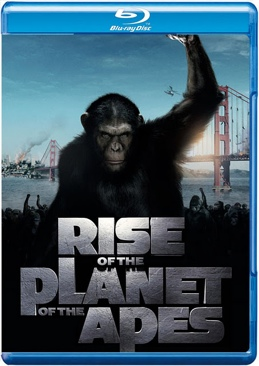 rise of the planet of the apes - Blu-ray cover