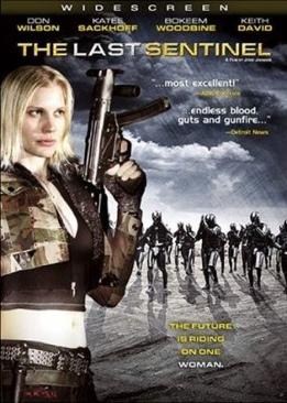 The Last Sentinel - HD DVD cover