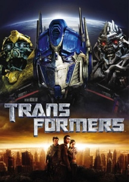 Transformers - Blu-ray cover