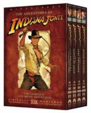 The Adventures of Indiana Jones - DVD cover