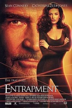 Entrapment - Blu-ray cover