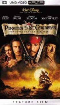 Pirates of the Caribbean: The Curse of the Black Pearl - UMD cover