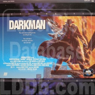 Darkman - Laser Disc cover