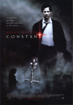 Constantine - DVD-R cover