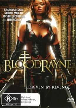 Bloodrayne - DVD cover