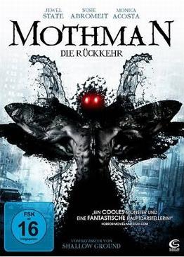 Mothman Die Rückkehr - DVD cover