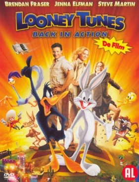 Looney Tunes: Back in Action - DVD cover