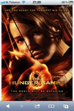 The Hunger Games - Video CD cover