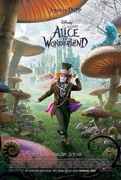Alice in Wonderland - DVD cover