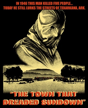 The Town That Dreaded Sundown - DVD cover