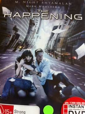 The Happening - DVD cover