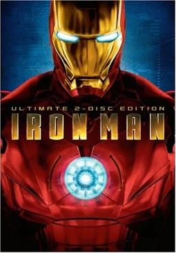 Iron Man - DVD-R cover