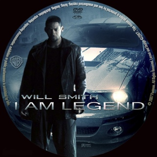 I Am Legend - DVD-R cover