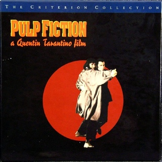 Pulp Fiction - Laser Disc cover