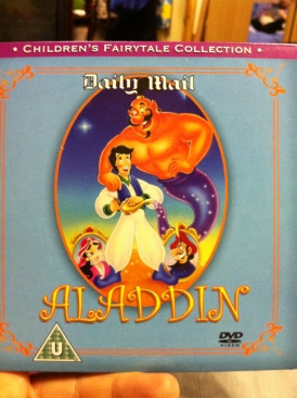 Aladdin - DVD cover