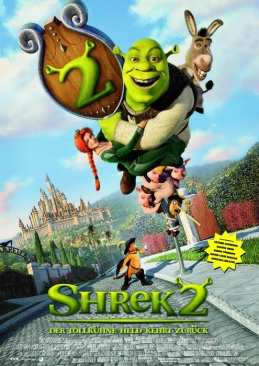 Shrek 2 - VHS cover