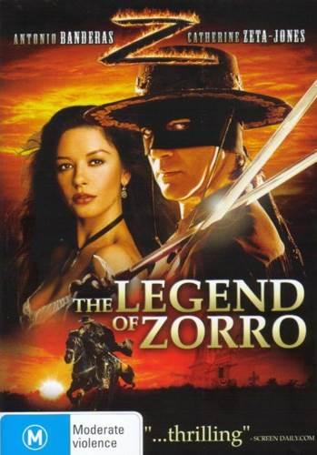 The Legend of Zorro - Blu-ray cover