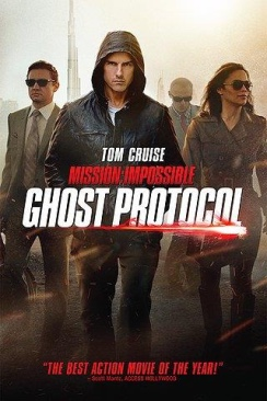 Mission: Impossible - Ghost Protocol - HD DVD cover
