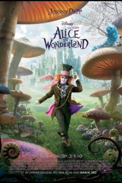 Alice in Wonderland - DVD-R cover