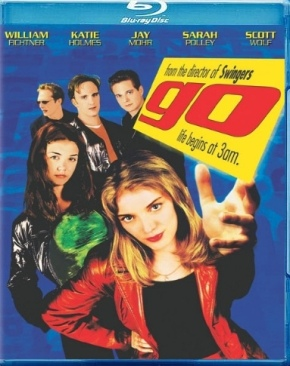 Go - Blu-ray cover