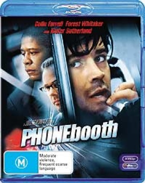 Phone Booth - Blu-ray cover