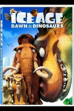 Ice Age: Dawn of the Dinosaurs - DVD-R cover