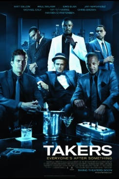 Takers - CED cover